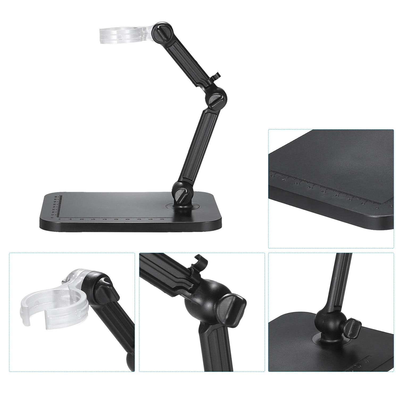 microscópio digital microscópio digital suporte da câmera lupa suporte