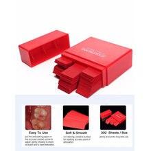 300 лист Красный стоматологические артикуляционные бумажные полоски стоматологический лабораторный продукт Уход за полостью рта E2F5