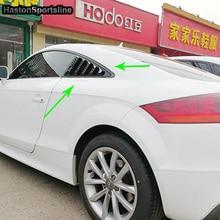 TT Auto Car Side Window Air Vent intake Decoration Trims For Audi TT 2008 2016