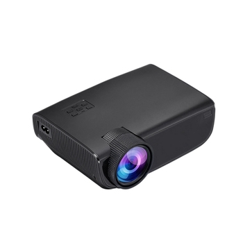 W50 Home Office Hd 1080P Mobile Projector with the Same Screen Portable Compact Projector with Remote Control for Android / IOS(