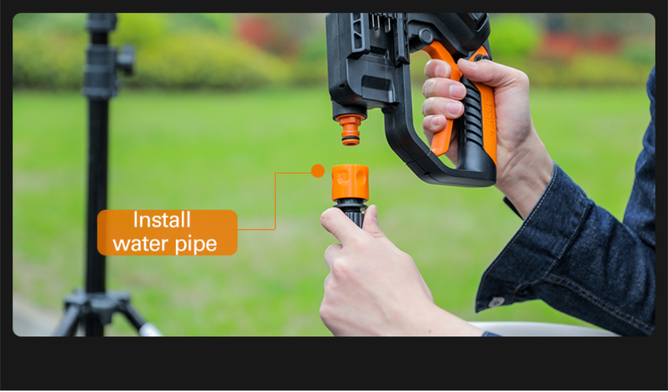 Install Water Pipe