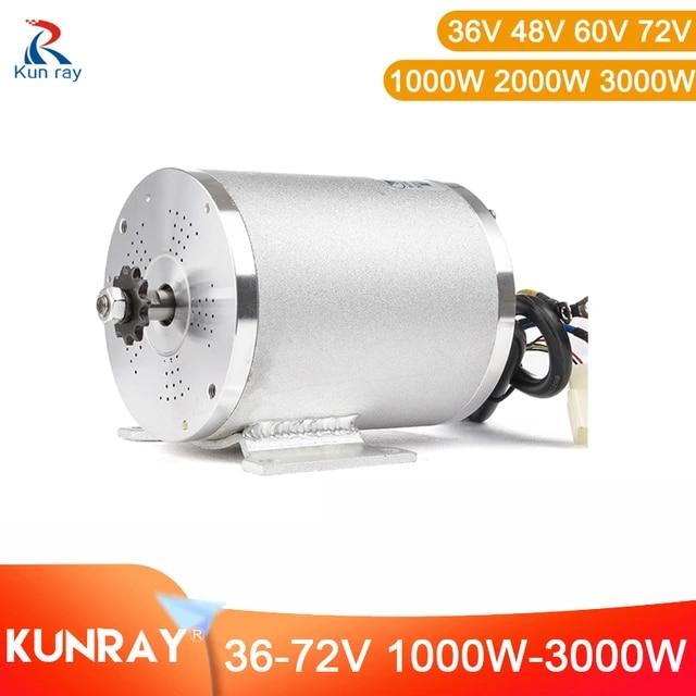72v 3000w dc motor