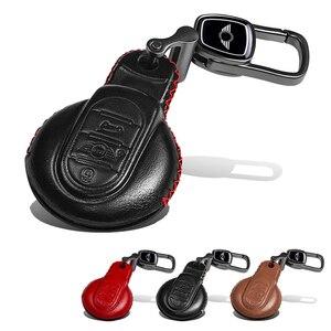 Image 5 - Deri anahtar kutusu araba anahtarlık kapak BMW MINI COOPER S JCW F54 F55 F56 F57 F60 CLUBMAN COUNTRYMAN araba styling aksesuarları
