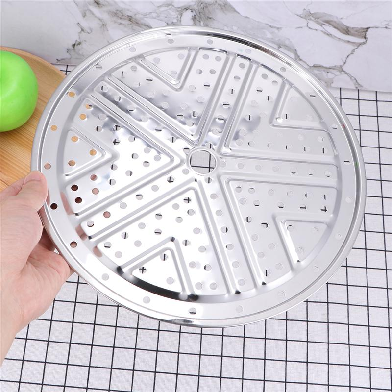 1 PC 26cm Pressure Cooker Canner Rack Stainless Steel Canning Steamer Rack Stand For Cooking Toast Bread Baking Kitchen Gadget