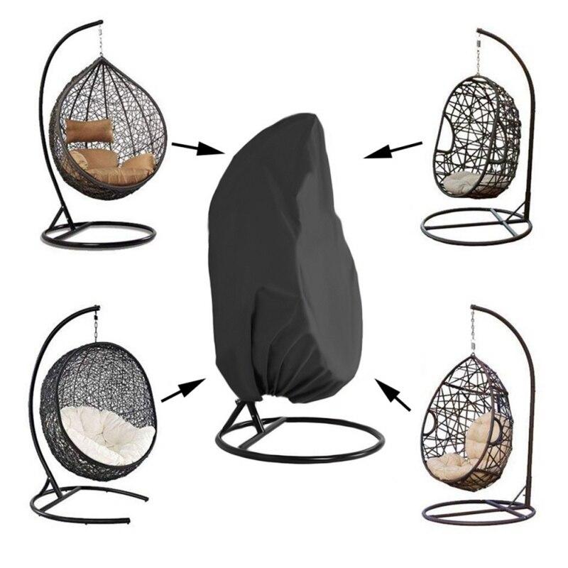 Анти-УФ водонепроницаемый Садовые принадлежности Ротанговые качели чехлы для стульев для патио переплетения Висячие чехлы для стульев