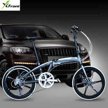 New brand 20/22 inch aluminum alloy frame 7 speed disc brake folding bike outdoor BMX bicicletas chi