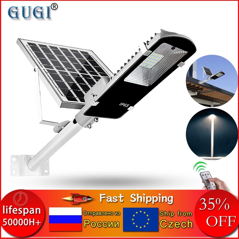 Led Solar Street Light Waterproof Outdoor Solar Light 100W Led Solar Lamp Outdoor Solar Led Lights For Plaza Garden Street Street Lights     -
