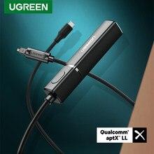 Ugreen Bluetooth 5.0 transmetteur APTX LL numérique optique SPDIF adaptateur Audio musique sans fil émetteur pour casque PC TV PS4