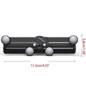 Image 5 - Mini yerçekimi araba telefon tutucu klip için cep cep telefonu araç tutucu standı 62KA