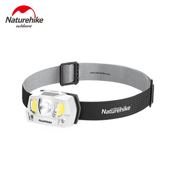 Naturehike High-capacity Battery Endurance Headlamp Double Light Source Gathering Flooding Together Head-mounted Camping Light