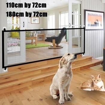 Portable Foldable Mesh Pet Safety Enclosure - 180x72 cm  -  110x72 cm 1