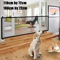 Переносная Складная гениальная сетка для собак, защитный сетчатый футляр для домашних животных и улицы, изоляционный барьер