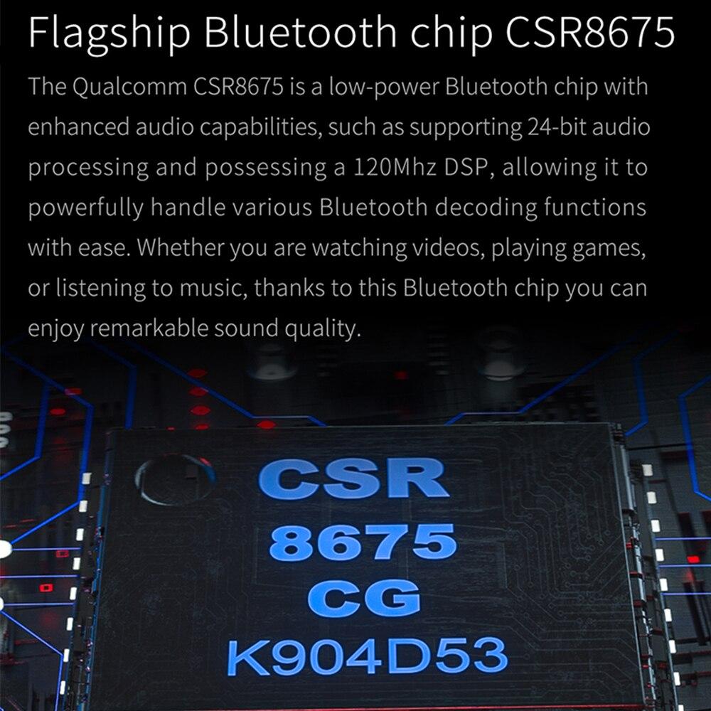Amplificateur de casque Fiio BTR5 USB DAC Bluetooth 5.0 ES9218P CSR8675 embauche 3.5mm 2.5mm équilibré AAC/SBC/aptX/aptX LL/aptX H/LDAC - 3