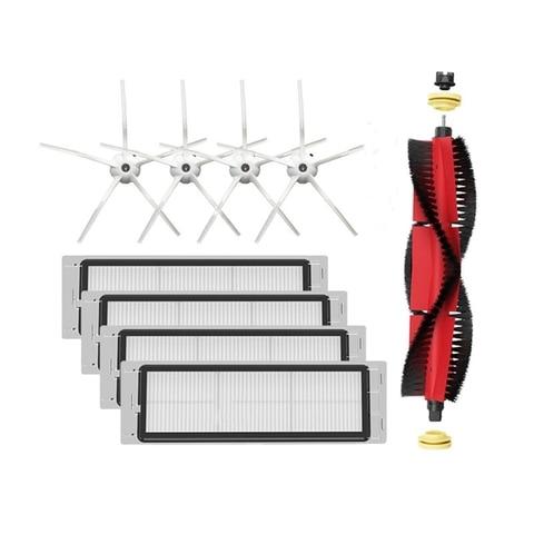 9 pcs robo aspirador de po filtros hepa escova principal acessorios para xiaomi roborock s4