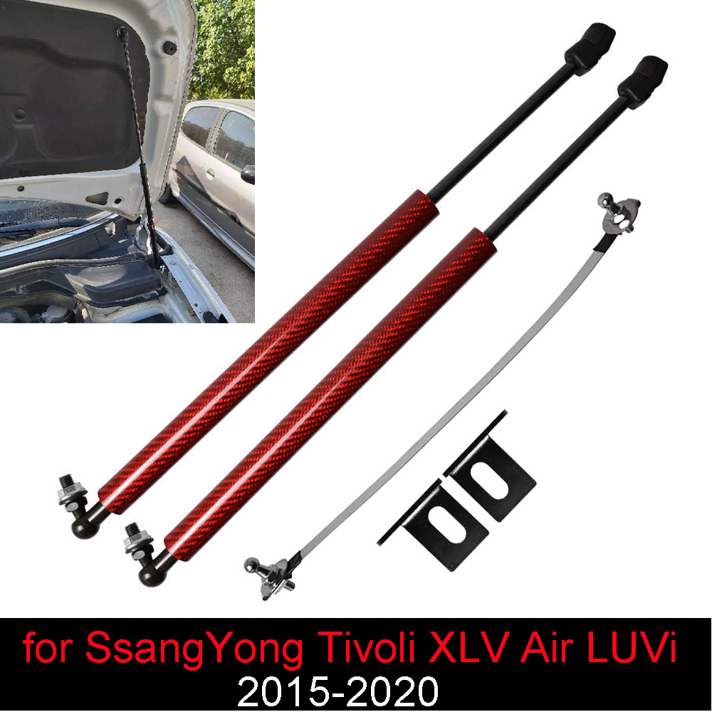 Damper for SsangYong Tivoli XLV Air LUVi 2015-2020 Front Bonnet Hood Modify Gas Struts Lift Support Shock Accessories Absorber(China)