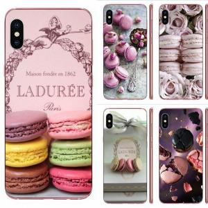 Paris Laduree Macaron For Huawei Honor Mate 20 p40 lite pro 10i 20i 8S lite Y9 Y7 Y5 Prime 2019 2018 Silicone Case Cover
