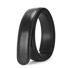 No Buckle Black Belt Body Luxury Cowhide Strap Without Buckle Belts Men Genuine Leather Male Belts Automatic Buckle Belt For Men цена