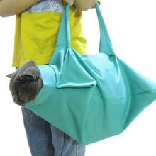 Pet Carrier Puppy Travel Space Handbag Breathable Shoulder Bag for Cats Dog Outdoor Use F42A