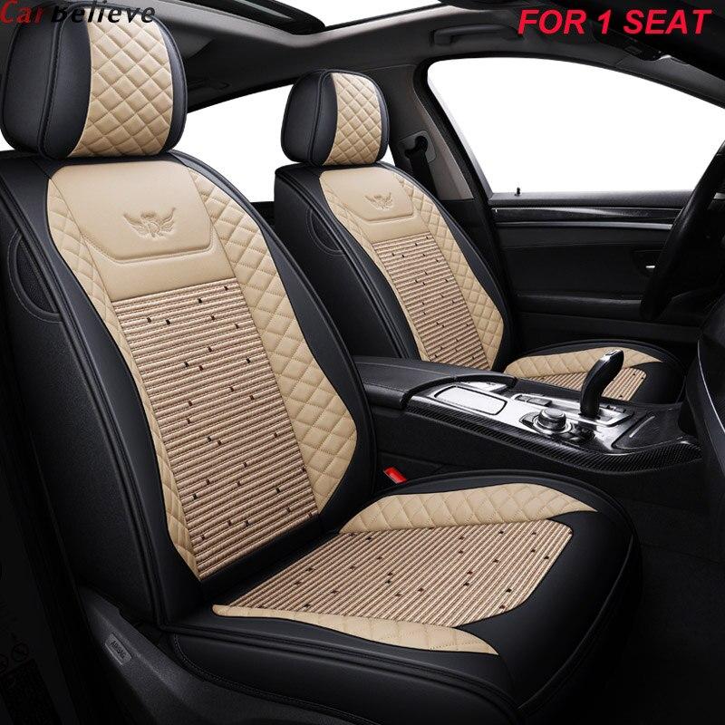 1 pièces housse de siège de voiture en cuir pour skoda kodiaq rapid spaceback octavia 2012 fabia 2 accessoires felicia housses de siège pour voitures