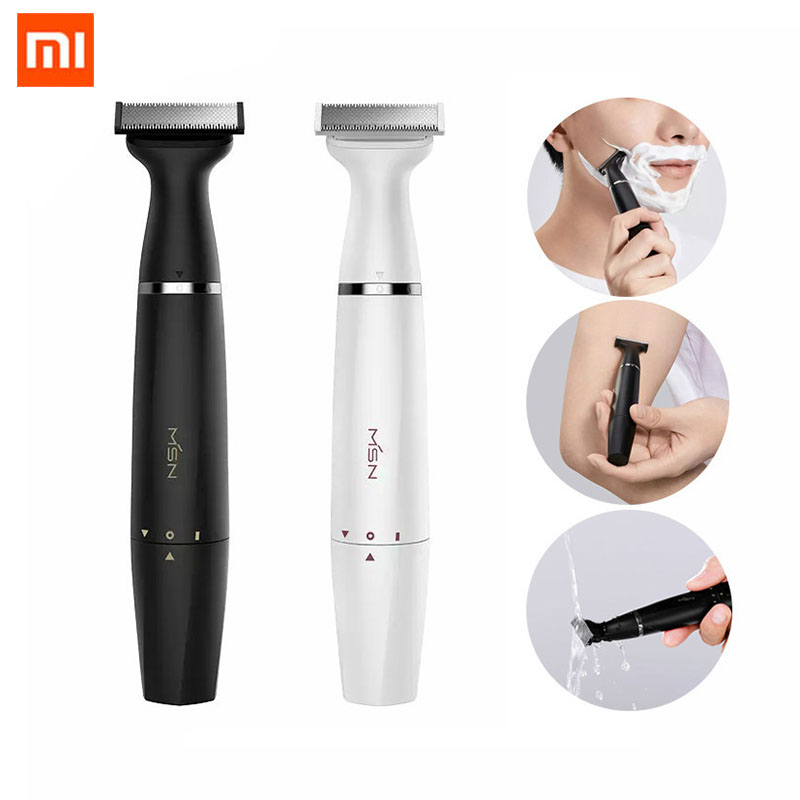Xiaomi MSN T3 Multi purpose Electric Hair Shaver Razor Blade Wet And Dry Dual Use Leg Hair Armpit Hair Eyebrow Styling Trimmer|Smart Remote Control| - AliExpress