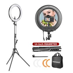 Neewer Dimmable Ring Light Lighting Kit for Portrait Makeup Photography YouTube Studio Video Shooting