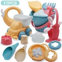 Brinquedo da praia para crianças, jogo de praia do bebê, brinquedos em silicone, areia macia, conjunto para praia, kit de brinquedos para jogar, água de areia carrinho