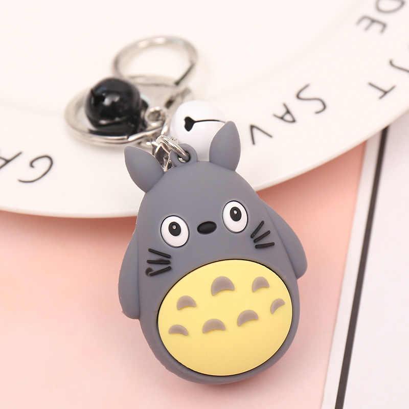 2020 Dos Desenhos Animados Meu Vizinho Totoro Totoro Boneca Vocalização Chaveiros Pingente Mulheres Charme Saco Keychain para Hayao Miyazaki Fãs Presente