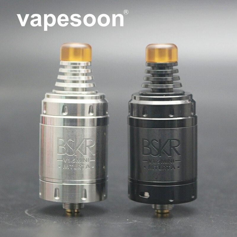 Vapesoon Berserker V1.5 MINI MTL RTA 22mm Version Slot Luftstrom Vereinfachte Top Füllen Design Fit 510 Gewinde Mod e -zigarette 1 stücke