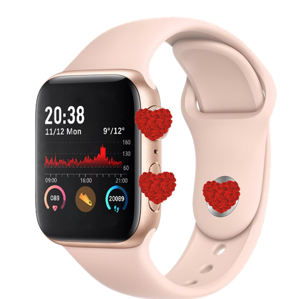 Q99/H55 Smart Watch Women Men Smartwatch Fitness Tracker Bracelet Heart Rate Monitor Series 5 Full Touch Waterproof VS W68 W75