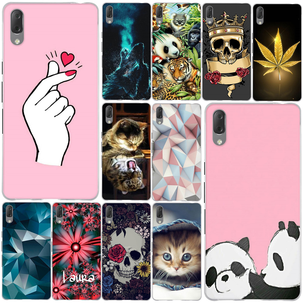 Cover for <font><b>Sony</b></font> <font><b>Xperia</b></font> <font><b>L3</b></font> <font><b>Case</b></font> Silicone Soft TPU Colorful Patterned Phone Back Protective <font><b>Case</b></font> for <font><b>Sony</b></font> <font><b>L3</b></font> <font><b>l3</b></font> Cover fundas Shells image
