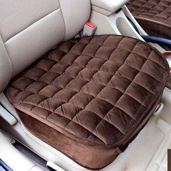 2020 keep warm cloth fabric not moves winter car cushion Fashion universal non slide auto Seat Cushions for vw polo RU1 X20