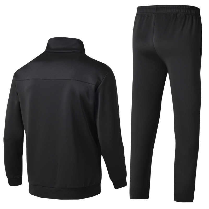 A + + + Jersey Sport Pak Mannen Olahraga Pak Losse Sportkleding Mannen En Najaar Kebugaran Berjalan Pak Hangat Yang Mengalir Sportkleding