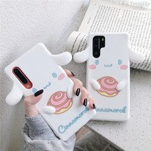 Cute Cartoon 3D Cinnamoroll Dog Phone Case For Huawei P20 P30 P40 Lite Mate 20 X Pro Mate 30 Soft Silicone Cover Coque Fundas(China)