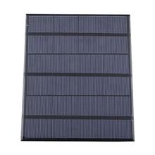 Солнечная панель система зарядное устройство 3,5 Вт 6 в Зарядка для банк питания для мобильного телефона Кемпинг BJStore