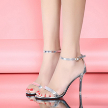 hot Ladies Summer High Heels Stiletto Buckle Strap Gladiator Sandals Peep Toe