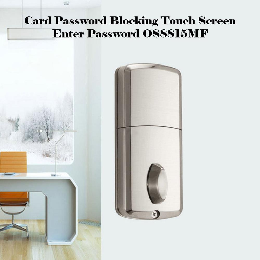 Europe And The United States Card Password Lock Zinc Alloy Material Touch Screen Input Password Os8815Mf