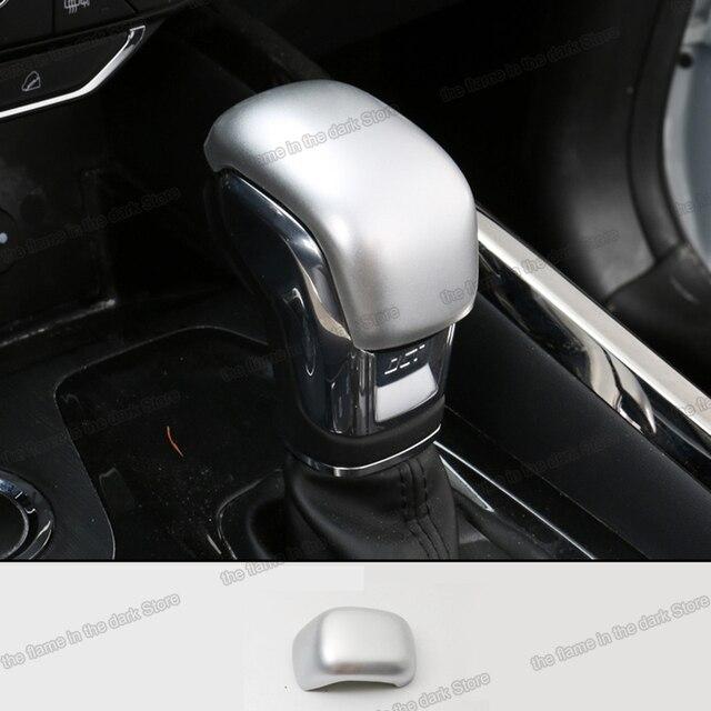 Lsrtw2017 for Chery Tiggo 8 Car Gear Lever Head Trims Decorative Interior Accessories 2018 2019 2020 Carbon Fiber