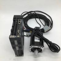 600W AC Servo Motor Drive Kit 0.6KW NEMA24 60mm 220V 3000r/min Modbus RS485 2500line for CNC Cheap