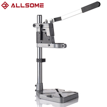 ALLSOME 400mm Electric Drill Stand Power Tools Accessories Bench Drill Press Stand DIY Tool Base Frame Drill Holder Drill Chuck