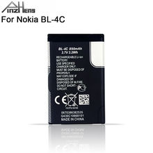 2019 PINZHENG 100% Original BL-4C Phone Battery For Nokia BL 4C BL4C 5100 6100 1202 1265 1325 Replacement