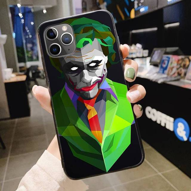 Joker 2019 Wallpaper Diy Luxury High End Phone Case For Iphone 11 Pro Xs Max 8 7 6 6s Plus X 5 5s Se Xr Cover Aliexpress