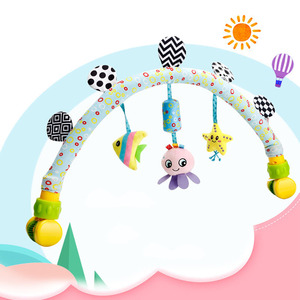 Image 3 - babies musical mobile for crib plush toys arc on the bed toddlers rattle newborn baby boy girl toy for stroller kids 0 12 months