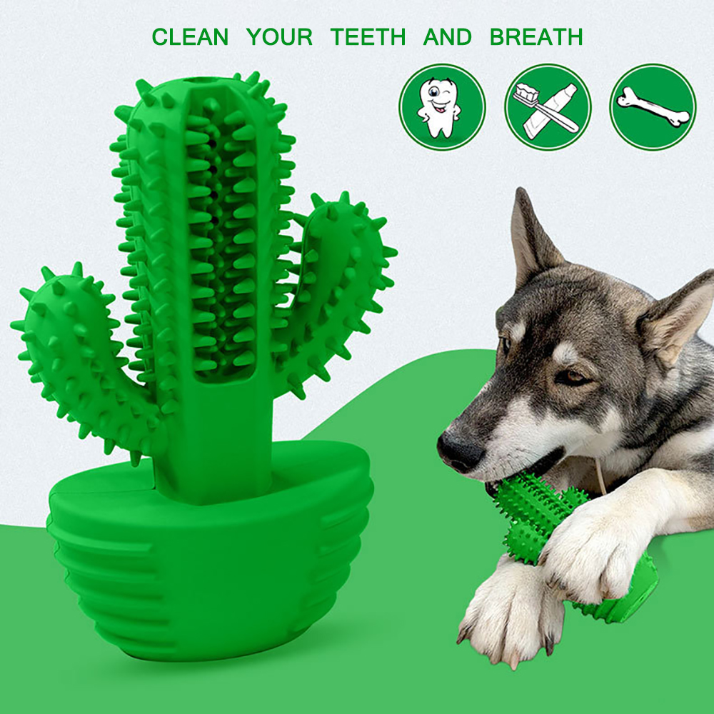 Dog Toy Dog Chew Toys Dog Toothbrush Pet Molar Tooth Cleaning Brushing Stick Dog Pet Supplies Doggy Puppy Dental Care