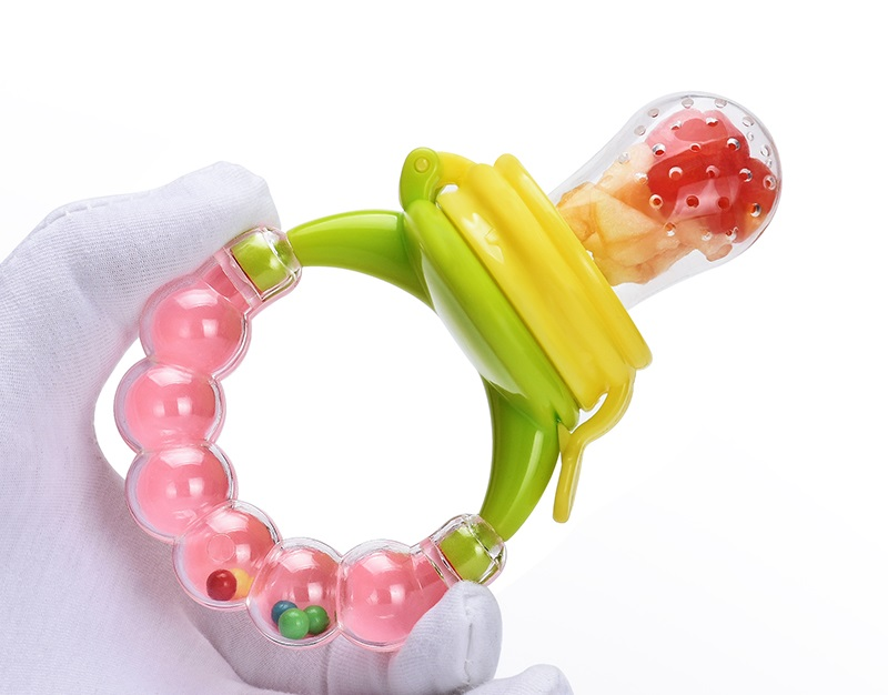 1pcs Biting Juice Pacifier Fresh Food Nibbler Silicone Baby Infant Fruit Feeder Toddler Baby Feeding Pacifier Newborn Nipple 2