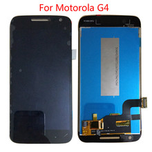 BKparts For Motorola G4 Play LCD Display Touch Screen XT1607 XT1609 LCD Digitizer Complete Assembly Replacement for motorola moto g5 lcd display touch screen xt1672 xt1676 lcd screen glass digitizer complete assembly