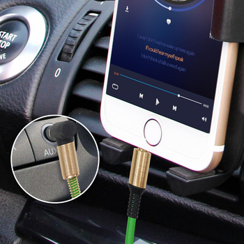 3.5 Jack AUX Audio Cable 3.5MM Male to Male Cable For Phone Car Speaker MP4 Headphone 1.8M Jack 3.5 Spring Audio Cables 4