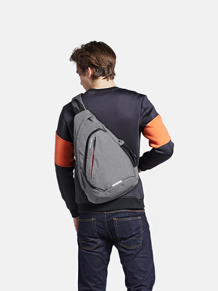 One-Shoulder Backpack Sling-Bag Fashion Bag Mixi School-University Travel Sports Student