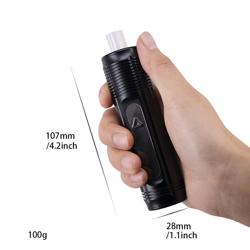 New IECIGBEST Elite Dry Herb Vaporizer Kit ceramic heating 2500mAh Battery vape Pen electronic cigarette Big Vaporizer VS X MAX
