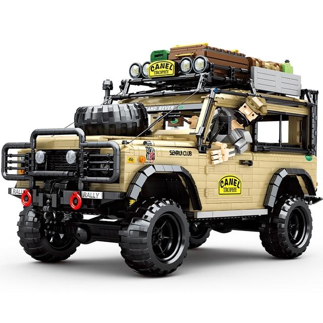 2021 New SUV Off-road Vehicle Model 4631PCS High-tech MOC Creator Car DIY Building Blocks Bricks Toys For Children Birthday Gift 2