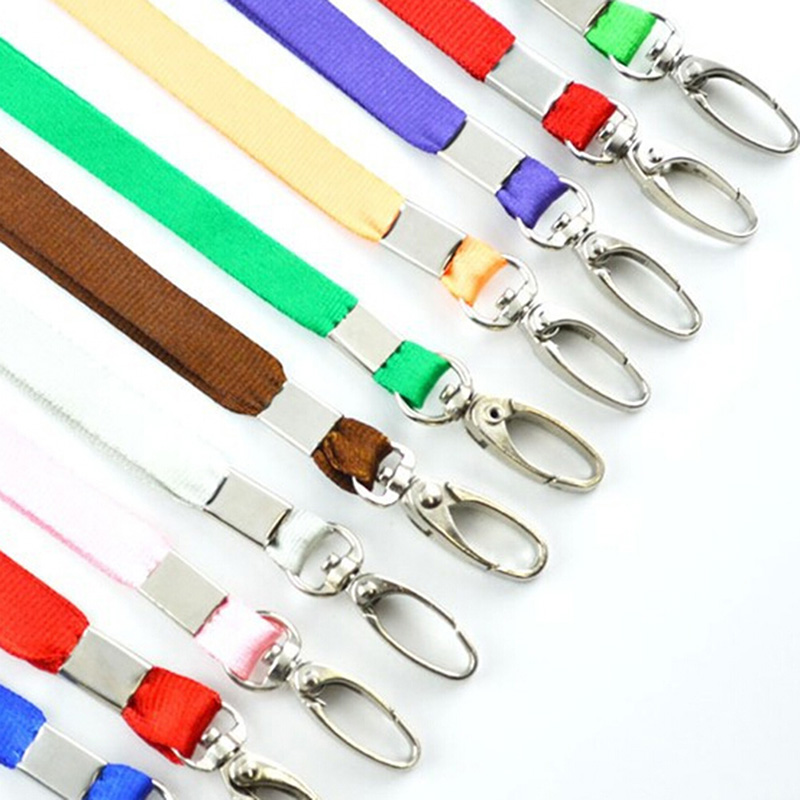 Neck Strap Lanyard Safety ID Badge Holder Metal Avalable Breakaway Phone Camara